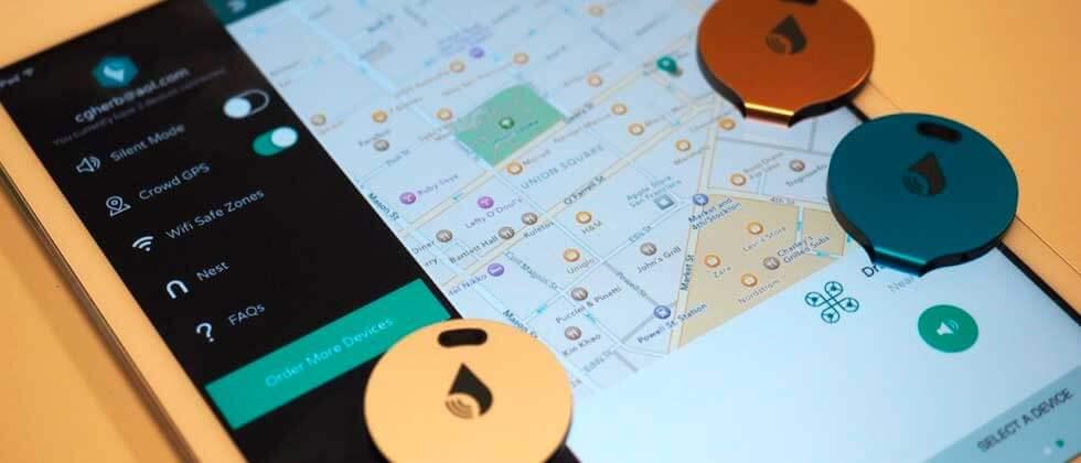 trackr-bravo-bản đồ