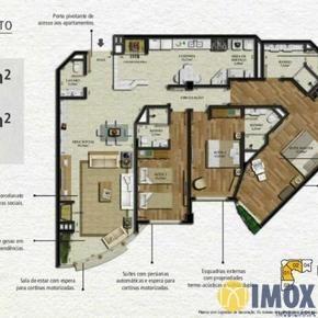 Apartamento em Gramado, bairro PraÇa Das Rosas