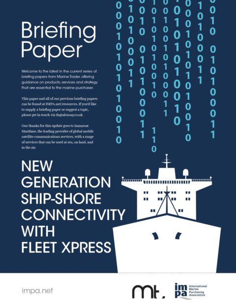 New Generation Ship-shore Connectivity With Fleet Xpress
