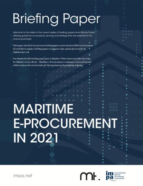 Maritime E-Procurement in 2021