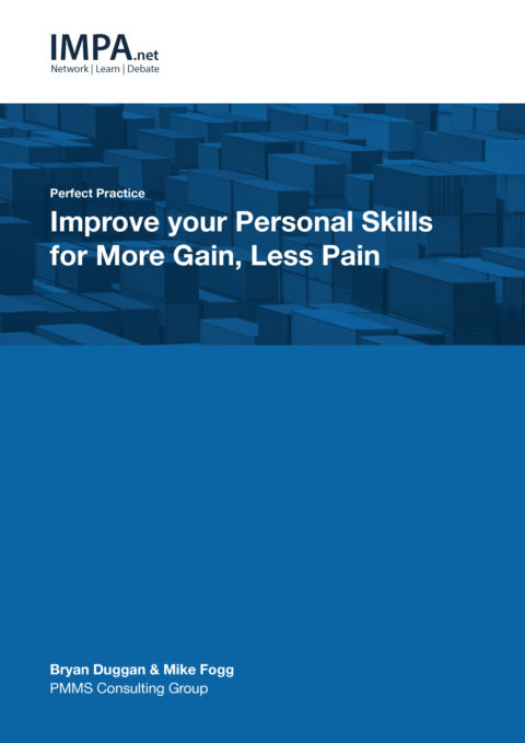Improve your personal skills for more gain and less pain