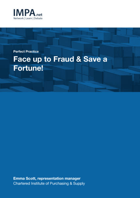 Face up to Fraud & Save a Fortune!