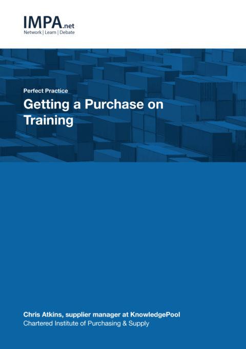 Getting a Purchase on Training