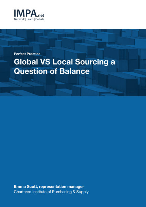 Global VS Local Sourcing – A Question of Balance