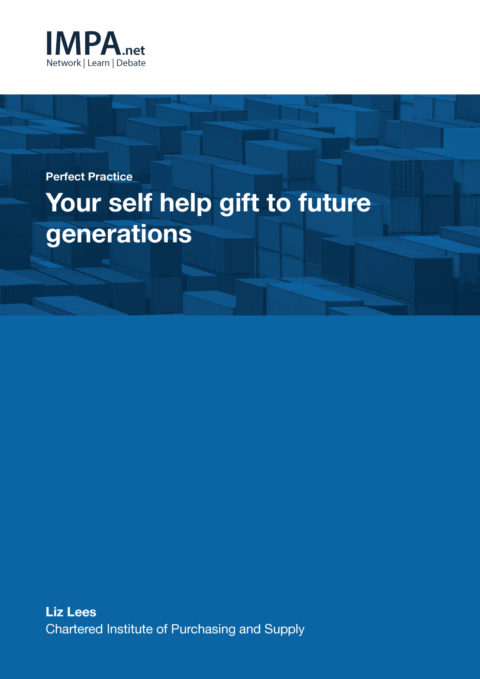 Your self help gift to future generations
