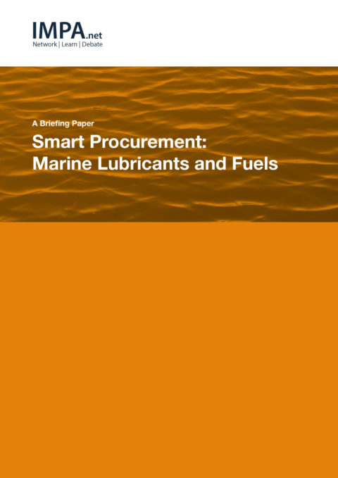 Smart Procurement: Marine Lubricants and Fuels