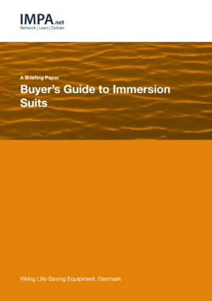Buyers Guide: Immersion Suits