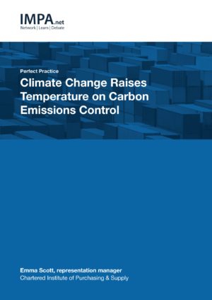 Climate Change Raises Temperature on Carbon Emissions Control
