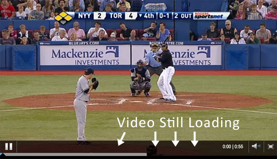 Video Loading on MLB.com