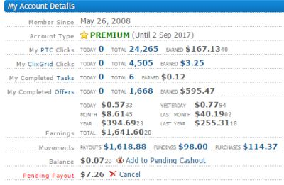 Clixsense Review and Payment Proof Earn Money Online 11