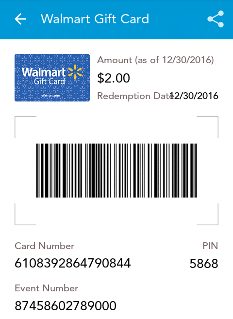 ShopKick Payment Proof