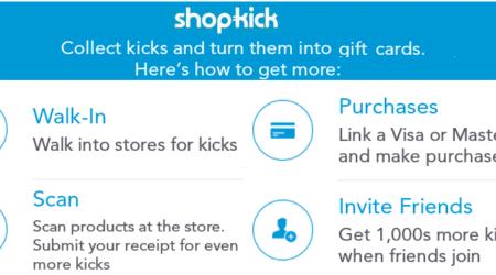 shopkick ways to earn