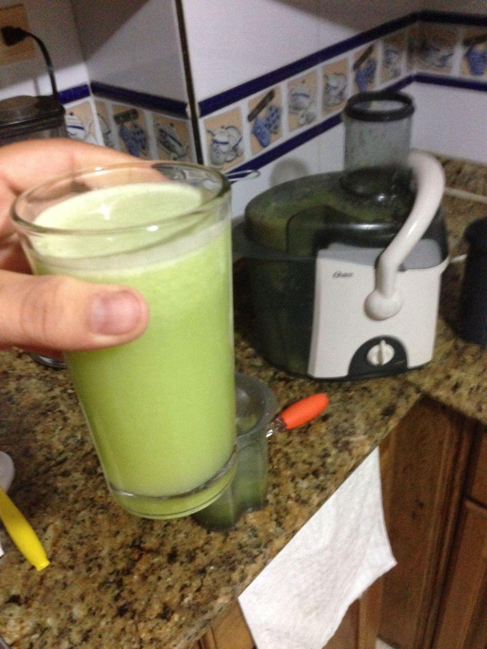 jugo verde semana 3 fase 1