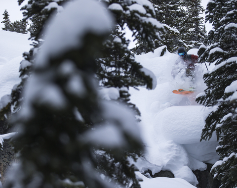 Fisher independent skier
