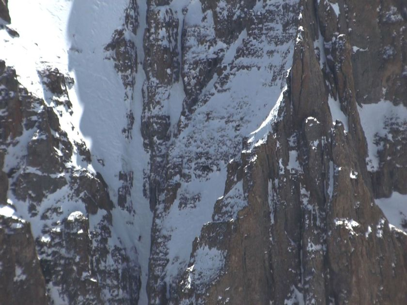 Havell in Suicide Chutes, Little Wasatch Ridge, Telluride, Colorado.