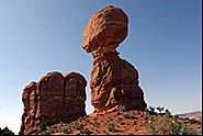 Balanced Rock, Arches National Park, Moab, Utah