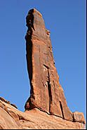 Steeple, Park Avenue, Arches National Park, Moab, Utah