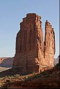 Courthouse Towers, Arches National Park, Moab, Utah