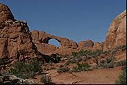 Skyline arch, Arches National Park, Moab, Utah