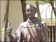 Statue of Father Junipero Serra, Mission San Juan Bautista