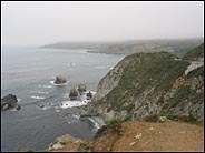 Foggy Big Sur Coast, Big Sur, California