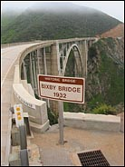 Historic Bixby Bridge, Big Sur, California