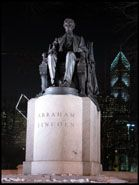 Lincoln Statue, Chicago