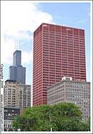 Sears Tower and Amoco Building, Chicago