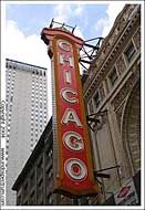 The <i>Chicago</i> theater, Chicago