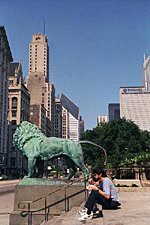 The Art Institute Lion, Chicago