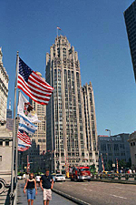 The Chicago Tribune Building, Chicago