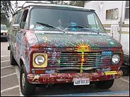 Painted Van, Cliff Drive, Santa Cruz