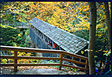 Covered Bridge, Franconia Notch State Park, New Hampshire