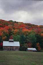 Fall colors, Vermont