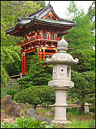 Temple Gate, Japanese Tea Garden, Golden Gate Park