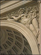 Arch detail, Music Concourse, Golden Gate Park
