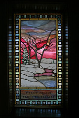 Stained Glass, Chapel of the Transfiguration