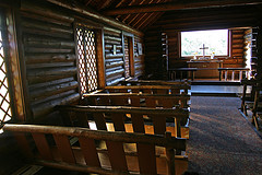 Pews, Chapel of the Transfiguration