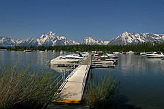 Boat Dock, Grand Teton National Park