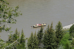 Boating on the Snake River, Grand Teton National Park