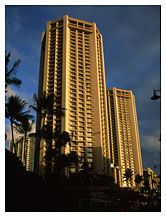 Hotel, Waikiki, Honolulu, Hawaii