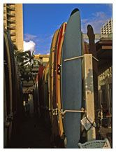 Surfboards for Rent, Waikiki, Honolulu, Hawaii