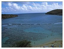 Hanauma Bay, Honolulu, Hawaii
