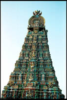 Main Gopuram, Abhirami Temple, Thirkadayur, Tamil Nadu