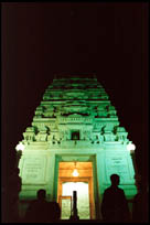 The Birla Mandir at night, Hyderabad, Andhra Pradesh
