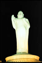 Buddha Statue, Tank Bund, Hyderabad, Andhra Pradesh
