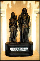 Kovalan and Kannagi Statue, Poompuhar, Tamil Nadu