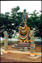 Statue of S. Radhakrishnan