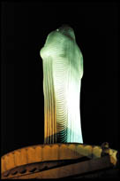 Rear-view of the Buddha Statue, Hyderabad, Andhra Pradesh