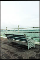 An enduring memory of Hyderabad, sitting on the bench at Tank Bund in the evenings buying junk food from the non-stop stream of vendors